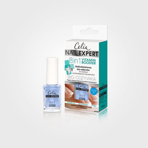 Odżywka Nail Expert 8 in 1 Nail Vitamin Booster