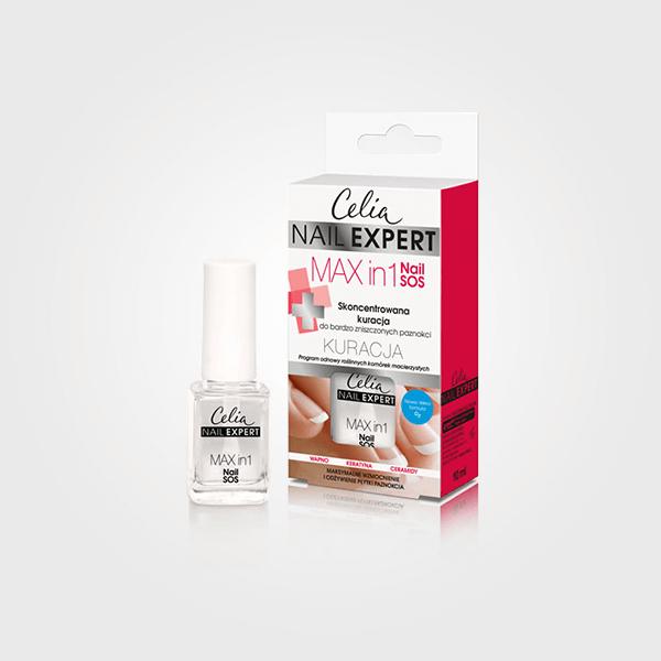 Odżywka Nail Expert Max in 1 Nail SOS