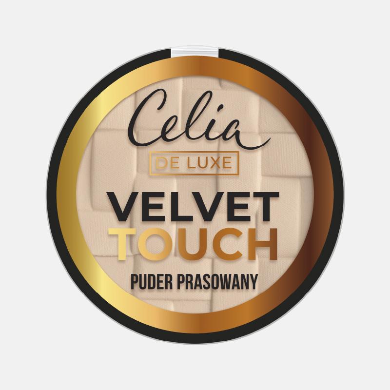 De Luxe Velvet Touch puder prasowany